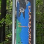 Burgwindheim Eingangsstele